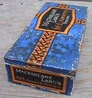 Vintage Biscuit Paper Covered Tin by MacFarlane Lang & Co. of London & Glasgow 1930s George V